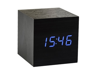 cube click clock gingko. Black Bedroom Furniture Sets. Home Design Ideas