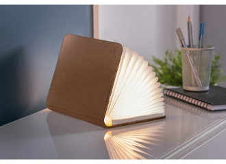 Mini Brown Leather Smart BookLight